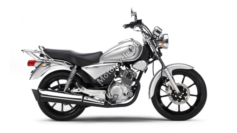 Yamaha YBR125 Custom 2008 25895