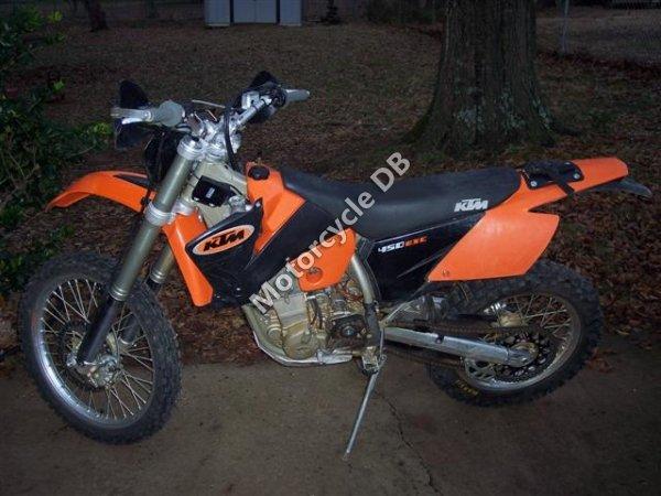 KTM 450 MXC USA 2004 9423
