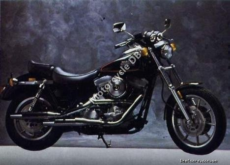 Harley-Davidson FXRS 1340 SP Low Rider Special Edition 1989 7286