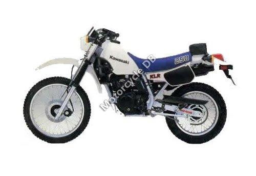 Kawasaki KLR 250 (reduced effect) 1992 13611