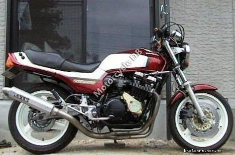 Honda CBX 550 F (reduced effect) 1985 19312
