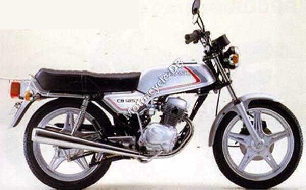 Honda CB 125 T 2 1981 10072