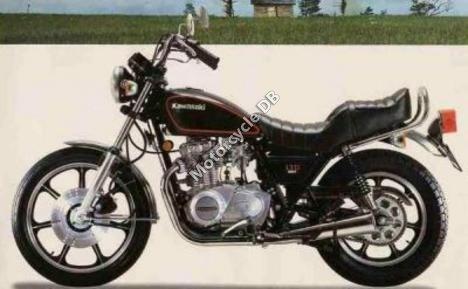 Kawasaki Z 440 LTD 1982 7468