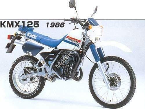 Kawasaki KMX 125 1986 1671