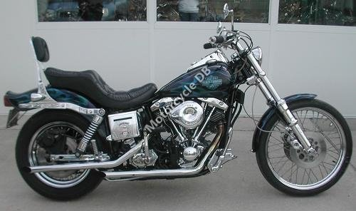 Harley-Davidson FXWG 1340 Wide Glide 1983 9829