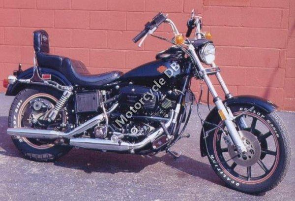 Harley-Davidson FLH 1340 EIectra Glide Belt Drive 1982 14601