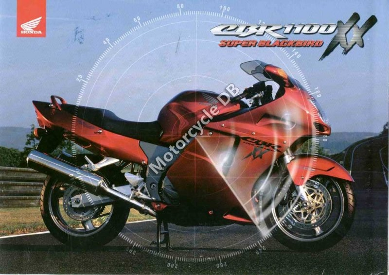 Honda CBR 1100 XX Super Blackbird 2000 30119