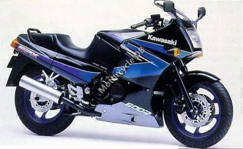 Kawasaki GPX 600 R 1988 15916
