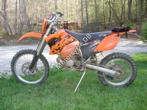 KTM 200 EXC 2005 8247