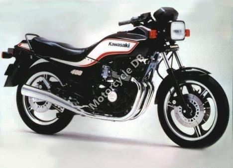 Kawasaki Z 400 F (reduced effect) 1984 14853
