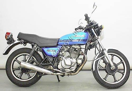 Kawasaki Z 250 C 1980 10534