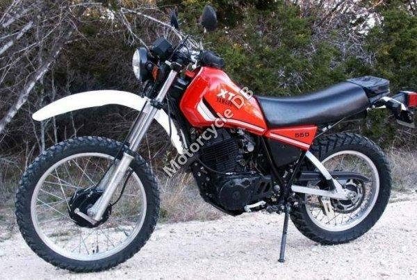Yamaha XT 550 1982 13018