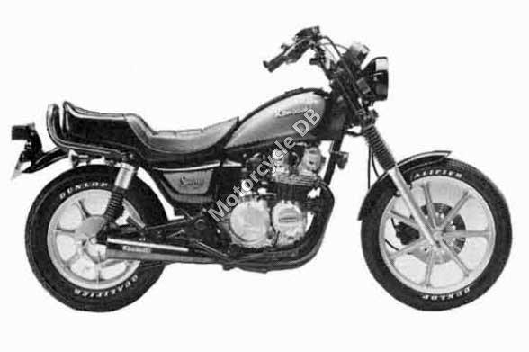 Kawasaki Z 550 LTD 1983 11763