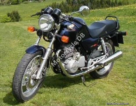 Honda XBR 500 (reduced effect) 1990 11564