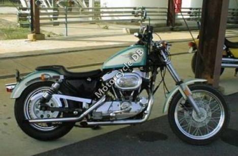Harley-Davidson XLH Sportster 883 Evolution De Luxe 1986 13468