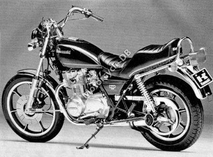 Kawasaki Z 450 LTD (reduced effect) 1988 18317