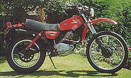 Honda XL 250 S 1981 10645