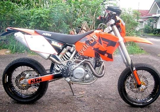 KTM 400 EXC Racing 2004 6821