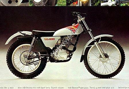 Honda TL125 Ihatovo 1984 10579