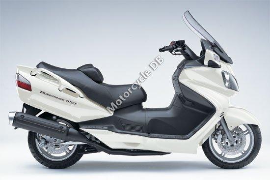 Suzuki Burgman 650 2007 2102