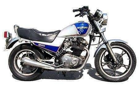 Suzuki GR 650 1989 6727