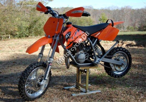 KTM 50 Senior Adventurer - 2006 Specifications, Pictures