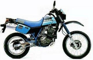 Suzuki DR 600 S 1989 6851
