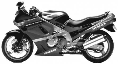 Kawasaki ZZ-R 600 1990 15854