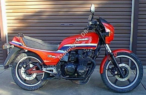 Kawasaki GPZ 550 1983 7306