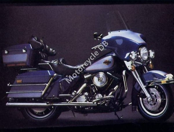 Harley-Davidson FLH 1340 EIectra Glide Belt Drive 1983 12094
