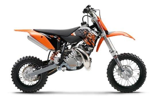 KTM 50 SX 2009 3618