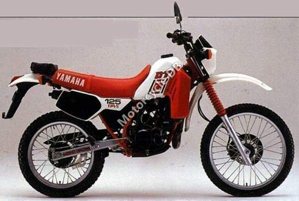 Yamaha DT 125 LC 1984 1752