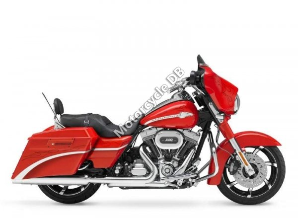 Harley-Davidson FLHXSE CVO Street Glide 2010 1234