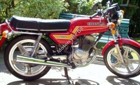 Honda CB 125 T 2 (reduced effect) 1985 12733