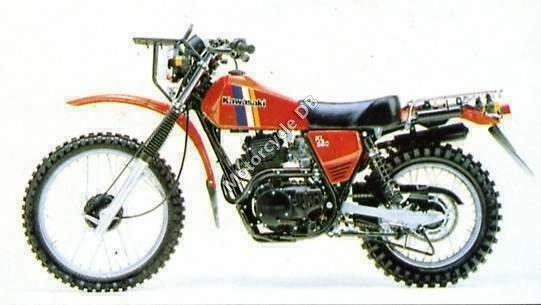 Kawasaki KL 250 1980 1344