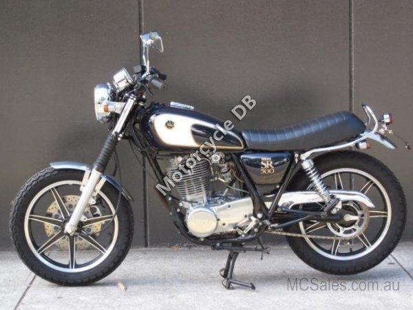 Yamaha SR 500 1985 16923