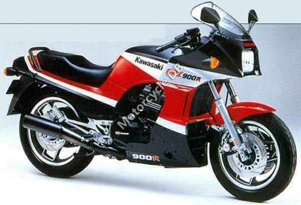 Kawasaki GPZ 900 R 1987 11135