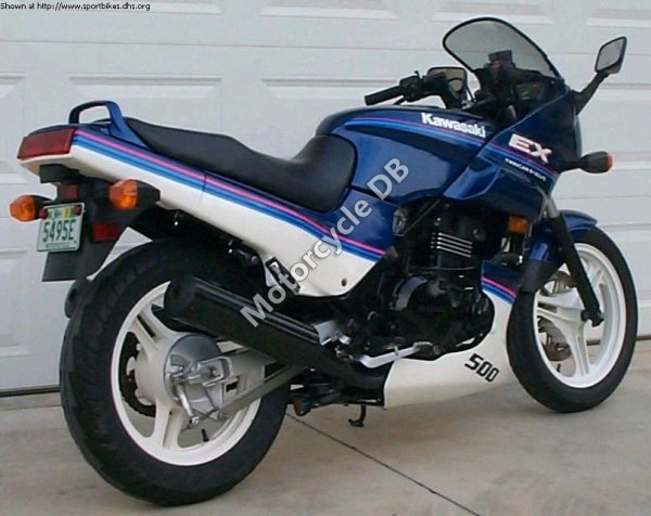 Kawasaki EN 500 1990 19844