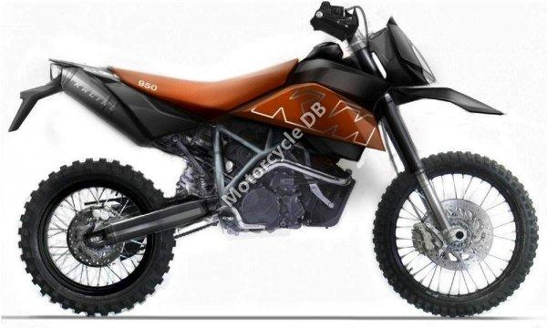 KTM 950 Super Enduro R 2008 12385