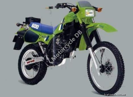 Kawasaki KLR 600 E (reduced effect) 1989 19585