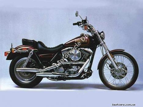 Harley-Davidson FXST 1340 Softail (reduced effect) 1988 18626