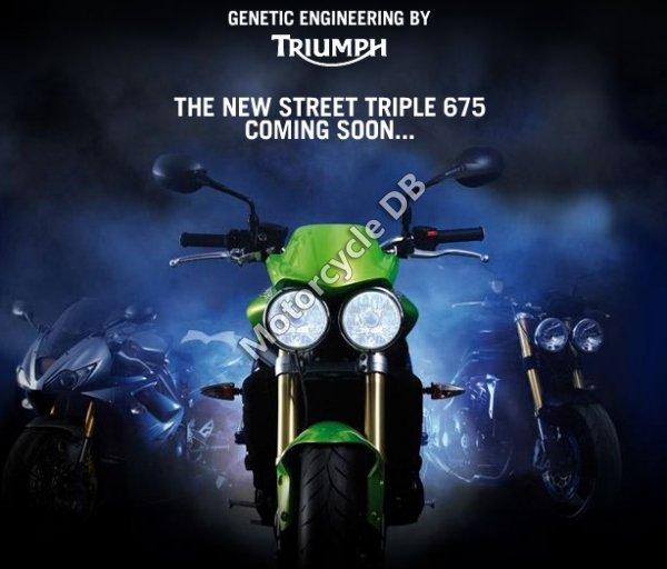 Triumph Street Triple 675 2008 2786