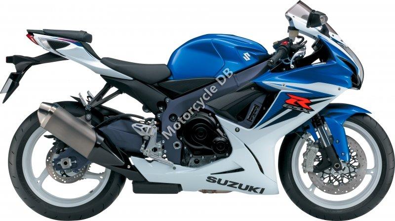 Suzuki GSX-R600 2012 27674
