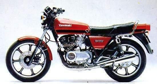 Kawasaki Z 400 B 1980 8504