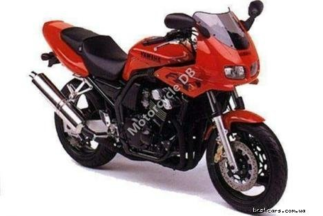 Yamaha FZ 750 (reduced effect) 1986 6631
