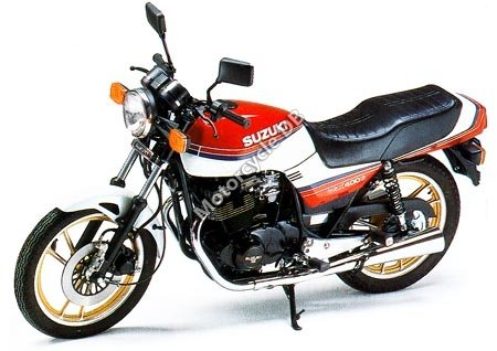 Suzuki GSX 400 E 1985 11358