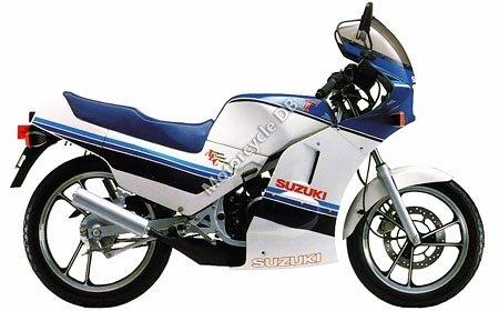 Suzuki RG125 Gamma 1986 13085