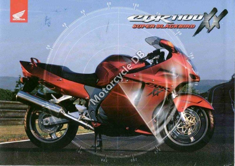 Honda CBR 1100 XX Super Blackbird 1998 30109