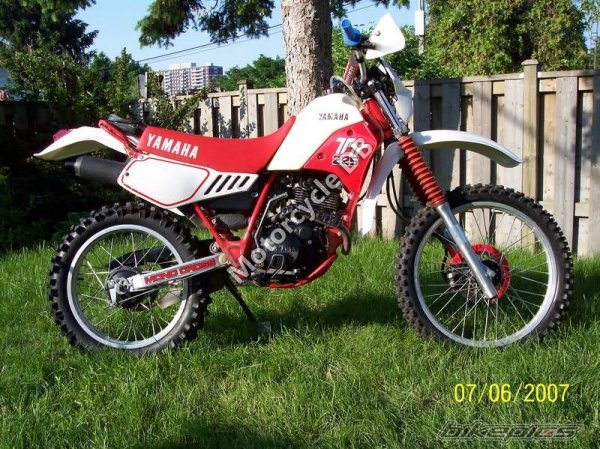 Yamaha TT 225 1987 7386