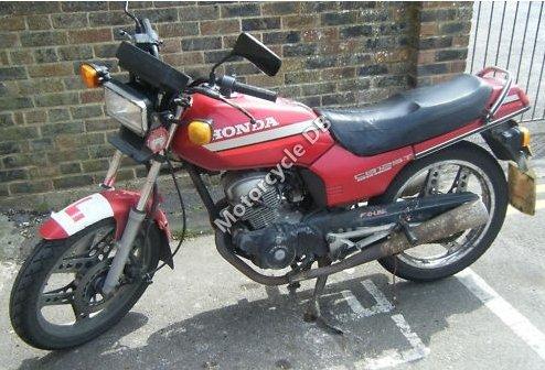 Honda CB 125 T 2 (reduced effect) 1984 13889